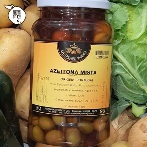 Azeitona Mista 800g