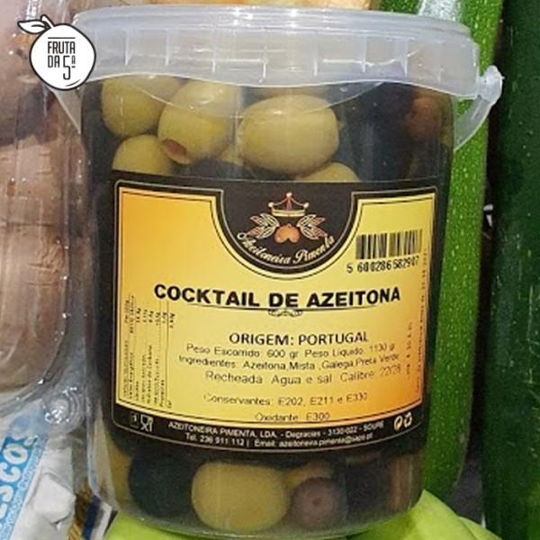 Cocktail Azeitonas 600g